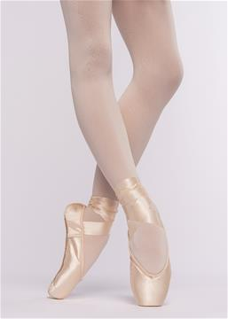 PREPARATORY POINTE SHOES. 3 STEP - NOVICE (from 10 years and up)